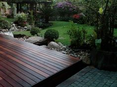 Wooden Terrace  garden