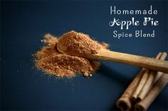 Homemade Apple Pie Spice Blend Recipe | deliciousobsessions.com