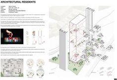 feeel, design, Connecting designers to the World Building Sketch, Architecture Panel, Modern Buildings, Korea, Diagram, Floor Plans, Projects, Design, Architecture