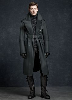 Not sure what this is made from //Imagine Elrond wearing this trench coat. Badass.