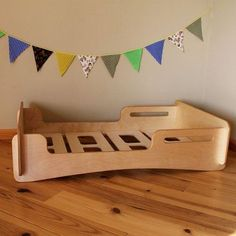 Modular platform bed for a baby made of Baltic Birch