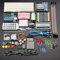 Geekcreit® UNO R3 Basic Starter Kit de Aprendizado Versão de atualização para Arduino