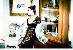 Kitten #MusicWeLove #Fur #Lace #Sequins