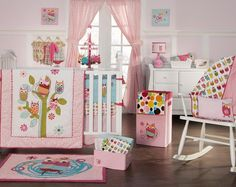 cambiaría el color, menos rosa y más de cualquier otro, pero... un paraíso de búhos!!! me encanta!!!