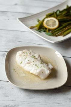 Learn how to butter poach fish.  This may be the only fish recipe you use after tasting one bite.  This is a quick and easy dinner to make.  The sauce from this fish is delightful.