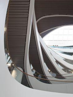 Biblioteca de la Universdad de Aberdeen. Diseño: Schmidt Hammer Lassen Architects