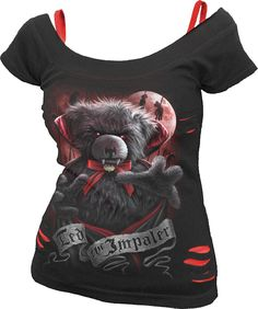 Ted the impaler - Tee-shirt femme gothic - Spiral