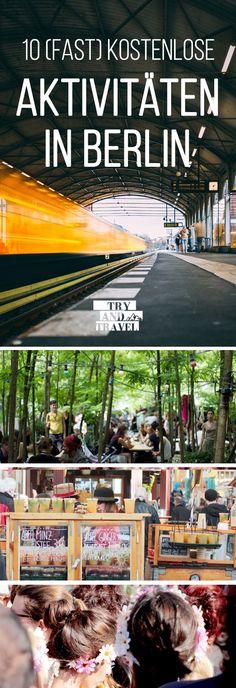 10 (fast) kostenlose Aktivitäten in Berlin und die echt einen Besuch wert sind! #berlin #aktivitäten #reisen #travel #günstigreisen #lowbudget