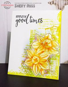 STAMPlorations™ Blog: {Spotlight Project} Shery Does Stamping with Watersoluble Oil Pastels
