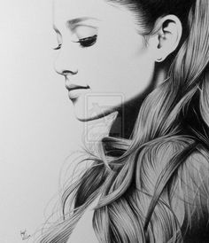 Ariana Grande | Artwork by Ray [©2014-2016 frompencil2paper]
