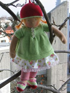 Zilli - little Zilli, waiting for Spring by Puppenliesl, via Flickr