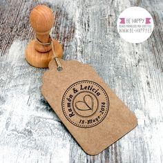 """Sello Personalizado Boda Modelo """"F"""". A la venta en www.be-happy.es #sello #stamp #wedding #boda #behappy"""