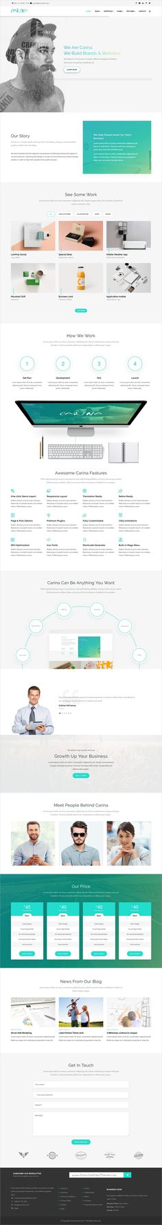 Buy Carina - Creative Multipurpose Drupal Theme by gavias on ThemeForest. Carina theme is Creative and professional business Drupal theme with fuly responsive design. Portfolio Format, Web Technology, Drupal, Site Design, Web Design Inspiration, Website Template, Templates, Business, Creative