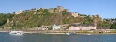 Koblenz ~ Rheinland-Pfalz ~ Germany ~ Ehrenbreitstein Fortress