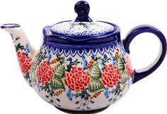Beautifully colored teapot