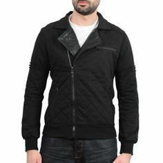 Sixth June - Molleton Perfecto Jacket Noir