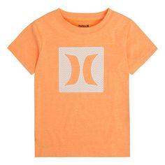 Boys 8-20 Hurley Logo Mesh Tee, Boy's, Size: Medium, Orange Oth