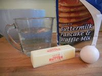 Buttermilk biscuits from pancake mix