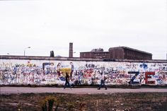 Berlin Wall 1980s