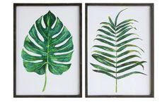 Palm Fonds, Wall Decor, Palm Leaves Wall Decor