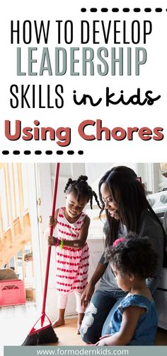 """As parents we all know that kids are """"supposed"""" to have chores. Sometimes it feels like more work to give a child a household job to complete as a chore than it feels to do the chore yourself. But it's still worth to ask children do their chores. Chores develop leadership skills in children, and leadership is one trait that is highly sought after in our modern workforce. #kidschores #kidschoresbyageallowance Teaching Kids, Kids Learning, Chores For Kids By Age, Chore Schedule, Creative Jobs, Charts For Kids, Problem Solving Skills, Great Leaders, Earn Money"""