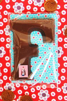 Zo wordt een chocoladeletter pas echt een cadeautje!