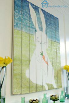 Remodelando la Casa: Easter - Spring Mantel