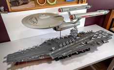Two 1/350 scale USS Enterprises - Album on Imgur