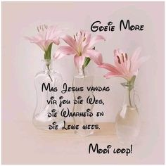 Bible Quotes, Qoutes, Goeie More, Good Morning Wishes, Place Cards, Place Card Holders, Messages, Amen, Night