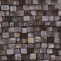 Origin Effect Brown Wood Cane Block Stack Natural Vinyl Feature Wallpaper Feature Wallpaper, Wood Wallpaper, Grey Wood, Brown Wood, Royal Dutch, Decoration, Firewood, The Originals, Rolls