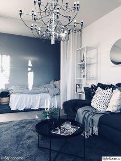 Small Apartment Ideas – My Life Spot Small Apartment Bedrooms, Small Apartment Design, Studio Apartment Decorating, Small Apartments, Home Bedroom, Apartment Living, Bedroom Decor, Deco Studio, Interior Design Living Room