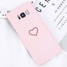 Samsung Galaxy S8 S8 Plus Fashion Love Heart Painted Couples Ultra Thin Hard PC Cover Cases For Galaxy S8