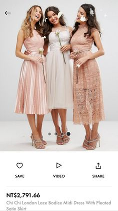 Buy Chi Chi London Embroidered Tulle Midi Dress With Button Back at ASOS. Get the latest trends with ASOS now. Bridesmaid Dresses, Wedding Dresses, Chi Chi, Asos, Tulle, Buttons, London, Shopping, Fashion