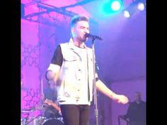 Adam Lambert singing Kickin In at private sweet 16 party (IG vid)