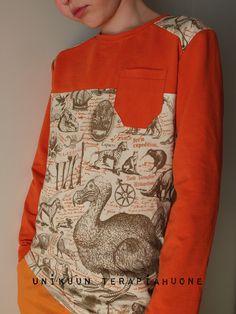 Dodo Shirt by Unikuun terapiahuone Fashion Moda, Kids Clothing, Sewing Ideas, Kids Outfits, My Favorite Things, Boys, Shirts, Inspiration, Clothes
