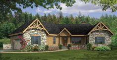 ePlans+Country+House+Plan+–+Angled+Ranch+Boasts+Dramatic+Interior+–+2065+Square+Feet+and+3+Bedrooms+from+ePlans+–+House+Plan+Code+HWEPL75920