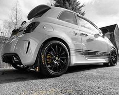 Fiat Abarth 500 Custom with Novitec Evo Exhaust!