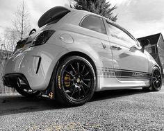 Fiat Abarth 500 Custom with Novitec Evo Exhaust!
