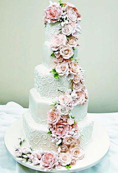 Amazing wedding cake!