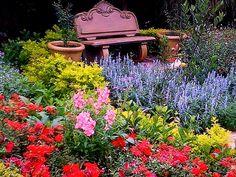 Paving Edging, Garden Paving, Herb Garden, Garden Plants, Garden Landscaping, Rock Pools, Garden Buildings, Colorful Garden, Horticulture