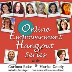 Online Empowerment Hangout Series - conversations with entrepreneurs and thought leaders April 15-24.