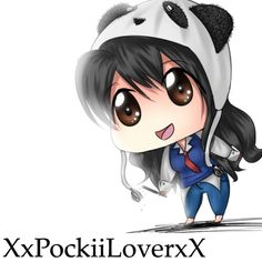 Images For > Anime Panda Girl Chibi