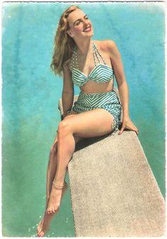 Maillots de bain des années 40 et 50   maillots de bain des annees 40 et 50 26