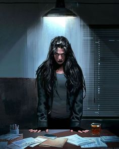 Jessica Jones by Jeff Dekal; reminds me of someone I know.