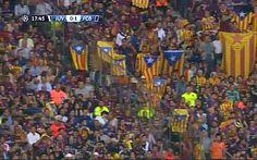 La UEFA sanciona el Barça amb 30.000 euros pels crits d'independència i l'exhibició d'estelades a la final de la Champions - VilaWeb, 23.07.2015