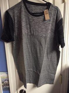 Mens DEREK ROSE T Shirt XL Black Crew Neck Luxury Mercerised Cotton Base Layer