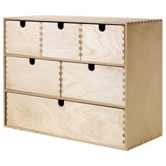IKEA - MOPPE, Mini storage chest, , Helps you organize everything from paper, USB sticks and rechargers to makeup and accessories.Untreated wood; can be treated with oil, wax or glazing paint for increased durability and a personal touch.