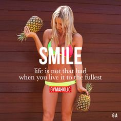 Smile! Fitness Revolution -> http://www.gymaholic.co/ #fit #fitness #fitblr #fitspo #motivation #gym #gymaholic #workouts #nutrition #supplements #muscles #healthy