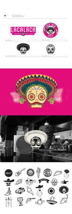 LACALACA - TAQUERÍA MEXICANA by Ricardo Deleón, via Behance
