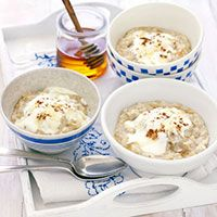 Apple & linseed porridge and other recipes from BBC Foods aimed at IBS sufferers